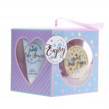 Bad Giftset Kubus Bubble Cake House