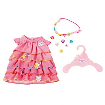 Baby Born Summerdress Set With Pins