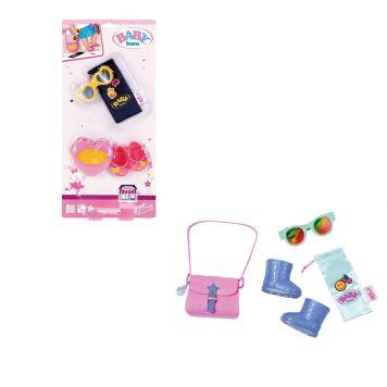 Baby Born Boutique Bag & Shoes Set Assorti