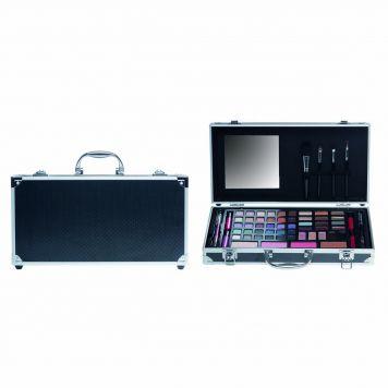 Casuelle Make-up Koffer Zwart Breed
