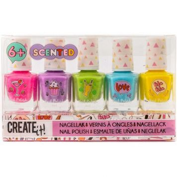 Create It! Nagellak Set Geur 5 Stuks