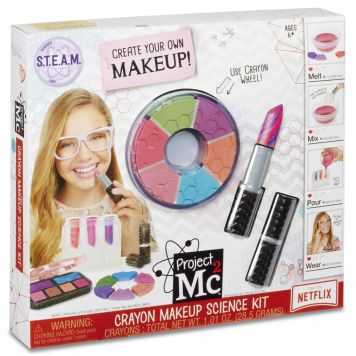 Project MC2 Crayon Make-Up Science Kit