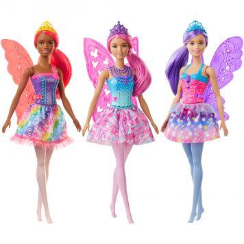 Barbie Dreamtopia Fee Paars
