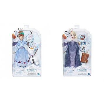 Frozen Olaf's Frozen Adventure Poppen Deluxe Assorti