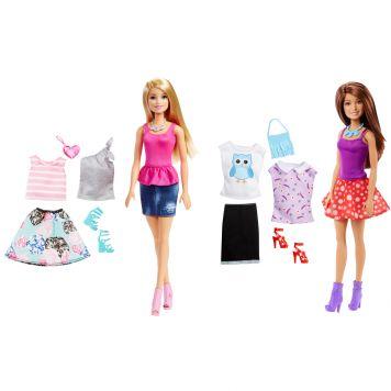 Barbie Met Kleding Assorti
