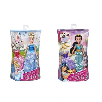 Disney Princess pop met extra jurk (2)