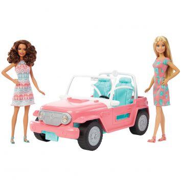 Barbie Met Voertuig
