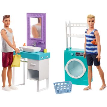 Barbie Ken Doet De Was