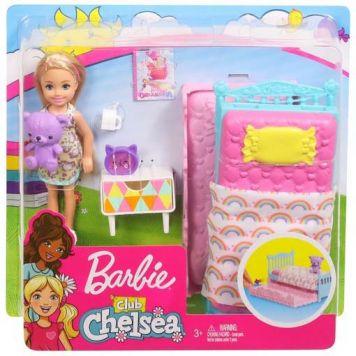 Barbie Club Chelsea Pop & Bedtijd Accessoire