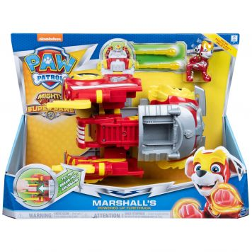 Paw Patrol Mighty Pups Power Vehicle Marshall