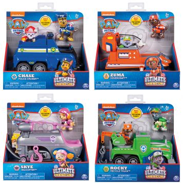 Paw Patrol Ultimate Rescue Themed Vehicles