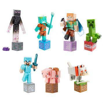 Minecraft Comic Maker Figuurtjes 8 Cm Assorti