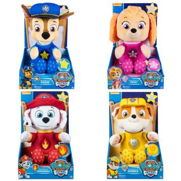 Paw Patrol Snuggle Up Pluche With Sound Assorti