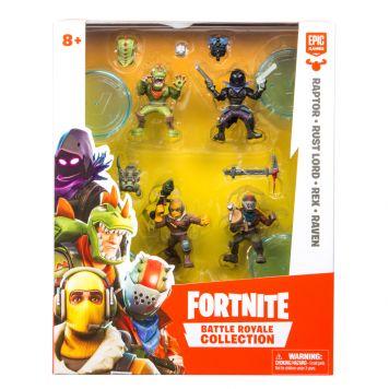 Fortnite Figuur 5 Cm Squad 4 Pack