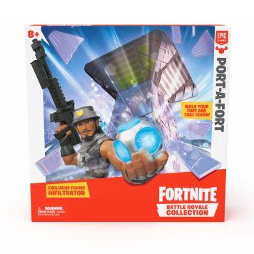 Fortnite Figuur 5 Cm Playset Port A Fort
