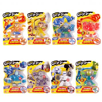 Goo Jit Zu Serie 1 Hero Single Pack Assorti