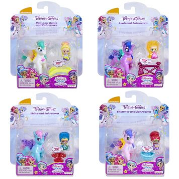 Shimmer & Shine Teenie Genies Zoomicorn Stal Assorti