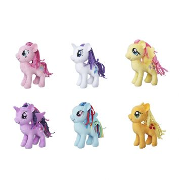 Pluche My Little Pony Klein Assorti