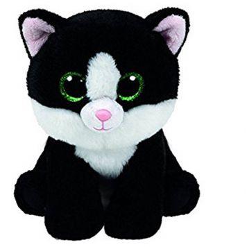 Ty Beanie Zwart Kat Ava 15 Cm