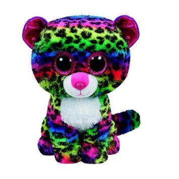 Ty Beanie Multi Kleur Luipaard Dotty 24 Cm