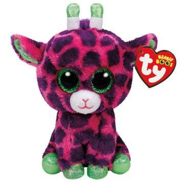 Ty Beanie Roze Giraf Gilbert 24 Cm