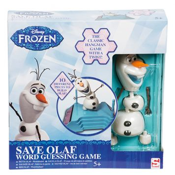 Spel Disney Frozen Red Olaf Woordraadspel
