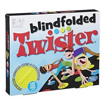 Spel Twister Blindfolded