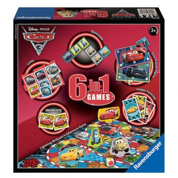 Spel Cars 3 6 In 1