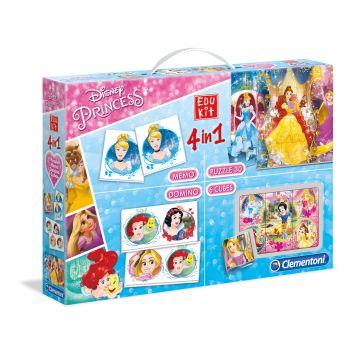 Spel Edukit Disney Princess 4 In 1