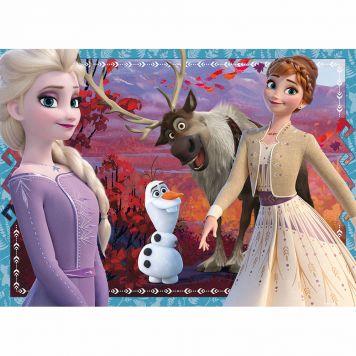 Puzzel Frozen2 4X42 Bumperpack