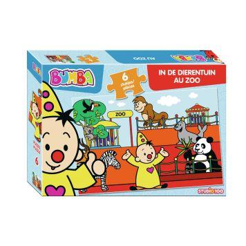 Puzzel Bumba Zoo 6 Stukjes
