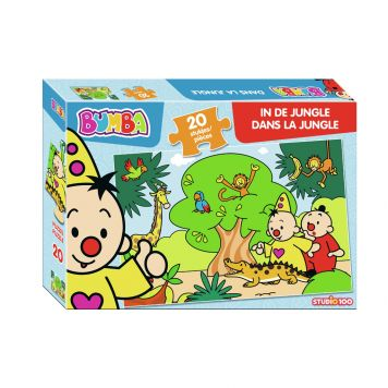 Puzzel Bumba Jungle 20 Stukjes