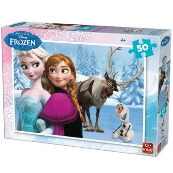 Puzzel Disney Frozen 50 Stukjes Assorti