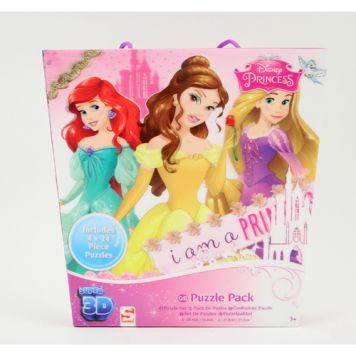 3D Puzzel Princess 4-In-1