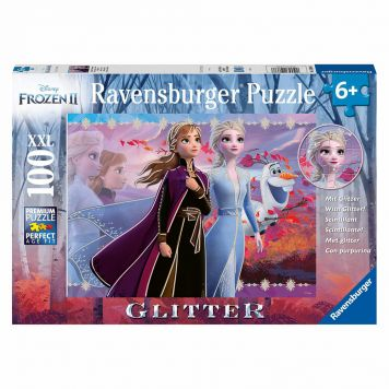 Puzzel Frozen 2 Glitter 100 XXL