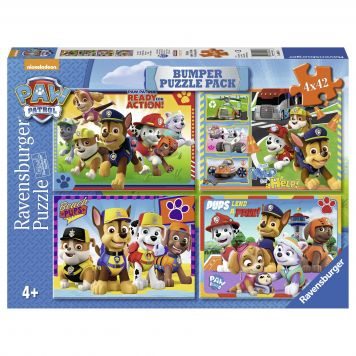 Puzzel Paw Patrol 4X42 Bumperpack