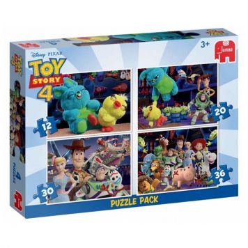 Puzzel Toy Story 4 Pack In 1
