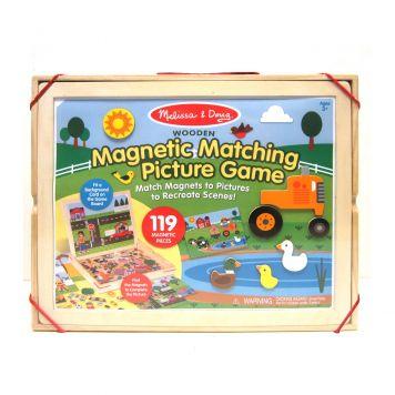 Spel Magnetisch In Houten Kist 127 Delig