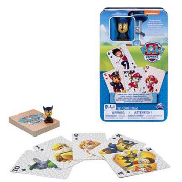 Paw Patrol Jumbo Cards In Tin