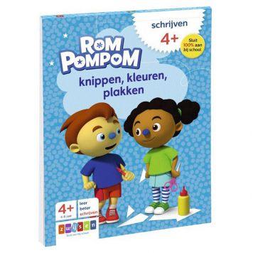 Rompompom Knippen Kleuren Plakken 4+
