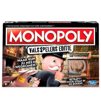 Spel Monopoly Valsspelers Editie