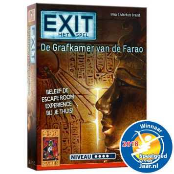 Spel Exit - De Grafkamer Van De Farao