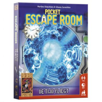 Spel Pocket Escape Room De Tijd Vliegt