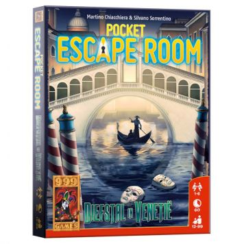 Spel Pocket Escape Room: Diefstal In Venetie