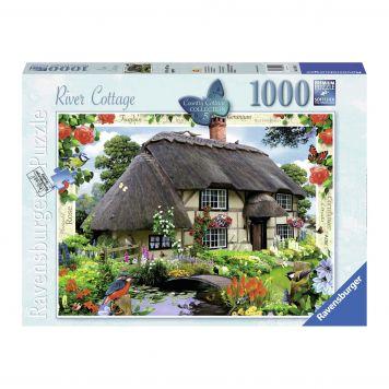Puzzel Country Cottage 1000 Stukjes