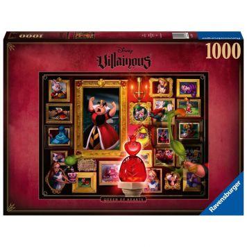 Puzzel Villainous Hartenkoningin 1000 Stukjes