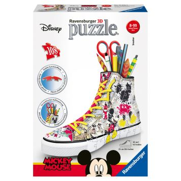 Puzzel 3D Sneaker Mickey Mouse
