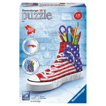 Puzzel Sneaker American Style 3D