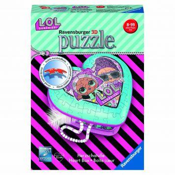 Puzzel 3D Hartendoosje Lol