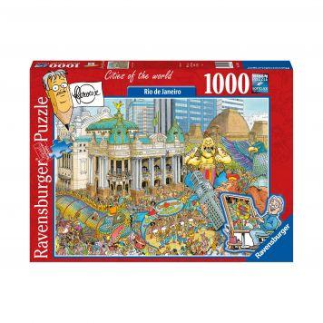 Puzzel Fleroux Rio De Janeiro 1000 Stukjes